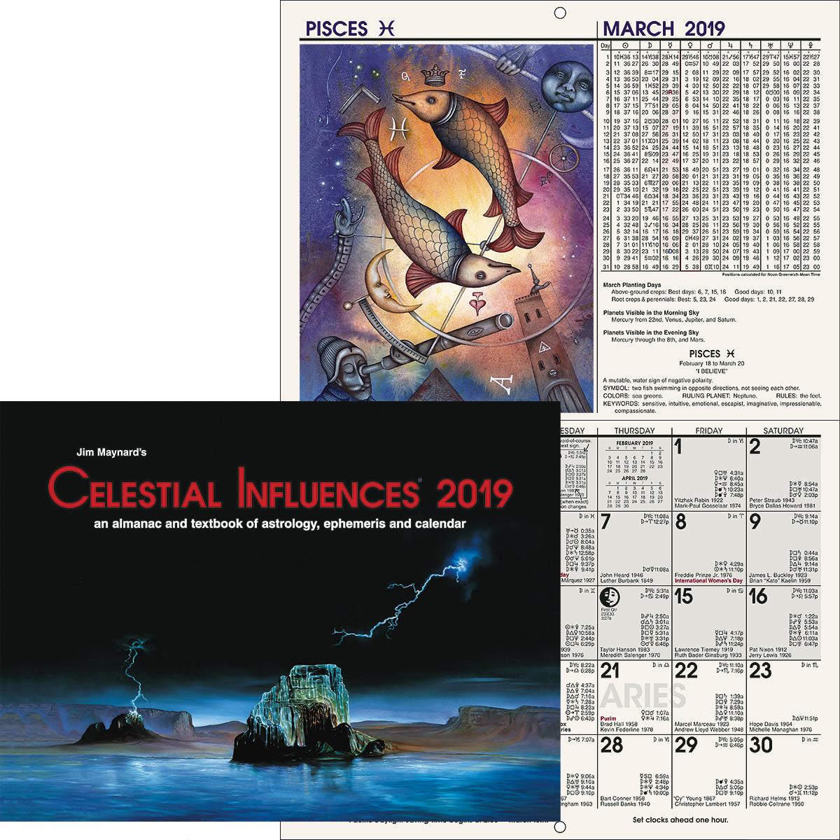 Celestial Influences® 2019